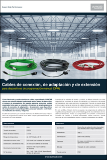 Connection, adaptation and extension cables