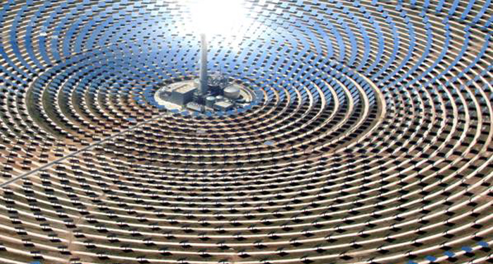 Central Termosolar Noor 2 & 3 en Ouarzazate, Marruecos