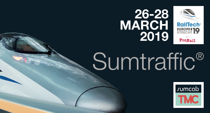 Sumcab TMC is delighted to invite you to the RAIL TECH EUROPE 2019